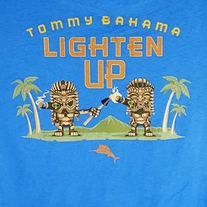 Tommy Bahama Mens Graphic T-Shirt Lighten Up Tee